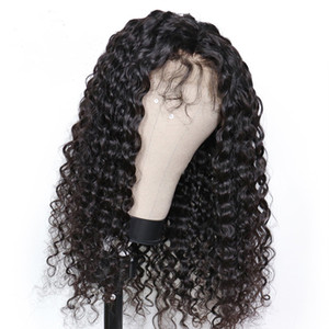 Long Curly Wigs Remy Human hair Wigs With Baby Hair Curly Lace front and Full lace Curly Wigs For Black Women