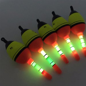 Wholesale 2 High Quality EVA Night Glow Fishing Float g g Fishing Floats Lighting Floats for Night Outdoor Accessories