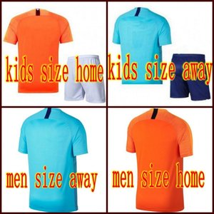 19 New Nederland Soccer Jerseys Kids Kits Men Home away VIRGIL DE JONG Football Team Uniform camisa de futebol 2019