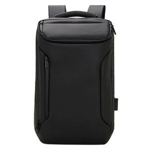 Wholesale New High end Fashion Business Wear Resistant Waterproof Computer Backpack USB Charging Backpack Multi function Oxford School Bag Travel Pack