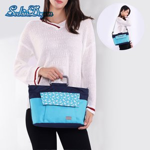 Wholesale SeckinDogan Baby Diaper Bag Large capacity Baby Nappy Bags Thermal Insulation Bags Casual Mummy Bag