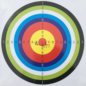 Wholesale Solid Durable Shooting Target Security Reusable Large Area High Hardness Archery Equipment Paper Eco Friendly Factory Direct grI1