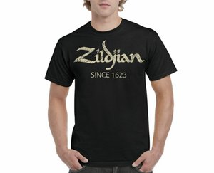 Wholesale ZILDJIAN SINCE T SHIRT Drummer Cymbals ADULT SIZES S TO XL TEE TOP Cotton Teenage Pop Top Tee Shirt