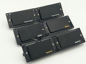 Black passive pickup , Seymour Duncan passive pickup , em hz Humbucker electric Pickups (1 Set Black Neck bridge )