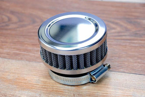 1pcs Stainless Ring Motorcycle Air Filter 32mm 35mm 45MM 48MM 50MM 52MM 54MM 60MM Cleaner For SR400 CB550 CB750 Kawasaki KZ650