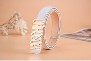 Wholesale 0Children s leather jeans trousers dress designer leather belt with shiny metal buckle