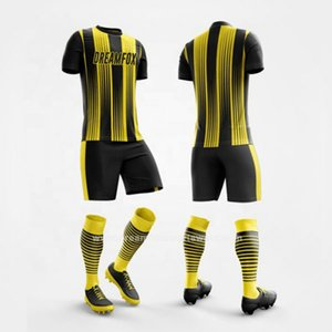 Mens Football Jerseys Custom team Cheap Shirts Youth Futbol Soccer Uniforms Jersey Kit Set