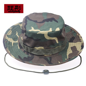 Wholesale bonnie hats resale online - Jungle Bonnie hat outdoor leisure fisherman hat