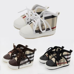Wholesale New PU leather Baby Girls Kids First Walkers Infant Toddler Classic Sports Anti slip Soft Sole Shoes Sneakers Prewalker Spring Autumn B92