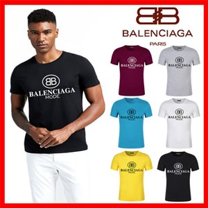 11Casual T-shirt Mens Clothing Summer Shirt Black White Size S-5XL Cotton Blend Crew Neck Short