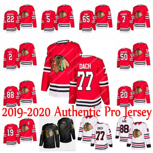 Wholesale Youth 77 Kirby Dach Chicago Blackhawks 2019-2020 Authentic Pro Jersey Patrick Kane Jonathan Toews Corey Crawford Duncan Keith Maatta Dylan