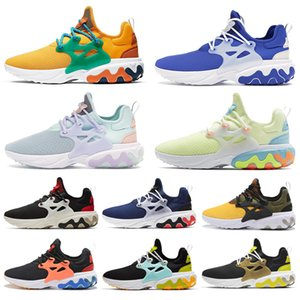 Wholesale New React Presto BEAMS men women running shoes DHARMA triple black Breakfast Alternate Galaxy mens trainer breathable sports sneakers runner