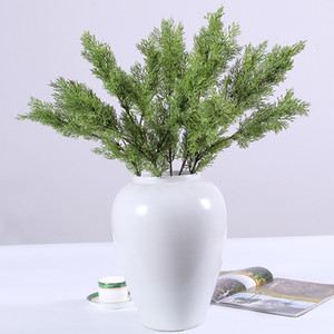Artificial Pine Cypress Plastic Evergreen Fake Plant Christmas Wedding Home Office Furniture Decor Bardian 6 2hq F1 on Sale