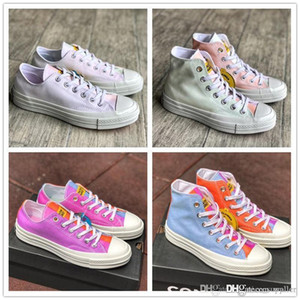 Chinatown Market Conver Chuck 70 Canvas Shoes Low Top Light Change UV discoloration Skateboard Sneakers Casual Shoes Mens Womens