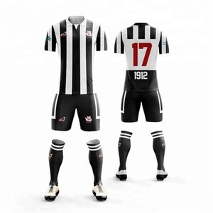 Free Shipping Custom Soccer Jersey design stipe football jerseys football Uniform Breathable Quick Dry Soccer shirt team Soccer suits on Sale