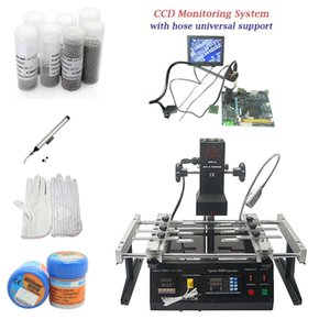 Wholesale BGA rework station IR6500 with with inch monitor CCD camera soldering tin ball