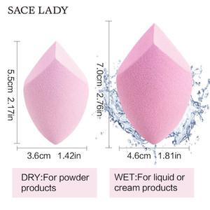 SACE LADY Makeup Sponge Professional Cosmetic Puff For Foundation Concealer Cream Make Up Blender Soft Water Sponge Wholesale