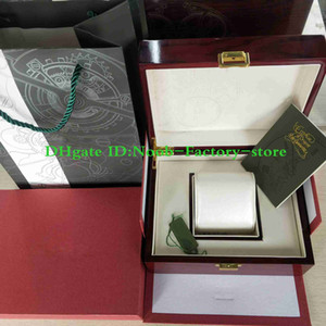 Wholesale paper wood resale online - Luxury Watch Original Box Papers Wood gift Boxes Handbag Use Swiss Watches Use