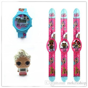 Wholesale wholesale 3style cartoon doll watch fashion girl Electronics calendar time wrist watches children kids Jewelry dhl free