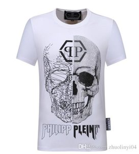 Spring 2019 round neck T-shirt, pure cotton high quality T-shirt, high grade printed round neck T-shirt.-L5 on Sale
