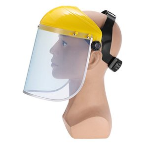 шокирующие лица оптовых-Маска сварочный шлем Anti UV Clear Safety Anti Splash Shield Visor Workplace Protection Supplies Anti Shock Protective Full Face