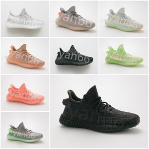 Wholesale true from kanye V2 Hyperspace CLAY static Reflective BUTTER SESAME CREAM ZEBRA BELUGA INFANT BLUE TINT men women Sports running shoes