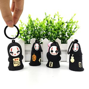 Creative new face Japanese and Korean cartoon 3D doll 3D key chain PVC soft plastic cute couple key chain pendant accessories