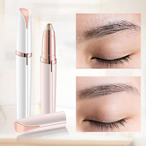 augenbrauenformer großhandel-Augenbrauen Epilierer maquiagem Profissional Completa TRYMER Do brwi Augenbraue Trimmer für Rasoir Visage Femme Make Up Eye Brow Shaper