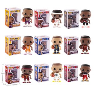 Funko pop Star Sports Basketball Player Kobe Stephen Curry Vinyl Action Figure Collectible Model Toy for kids toys 1435 on Sale