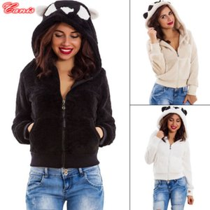 Wholesale Women Ladies Jackets Fashion Casual Teddy Bear Coat Cute Ladies Fleece Zip Outwear Jacket Oversized Overcoat