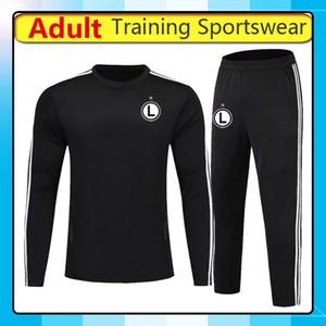 2019 2020 legia warsaw soccer Training sportswear, 19 20 legia warsaw Long Sleeve Training Jerseys football tracksuit pants Running Sets
