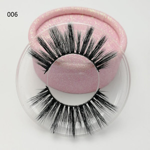 Factory direct sale 3d silk eyelashes with Wholesale customized label High quality natural style 3d hair lashes
