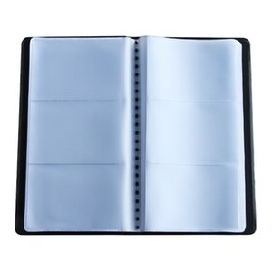 Wholesale 180 Sheets Office Name ID Bank Credit Card Holder Book Case Business Cards Files