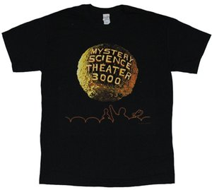 Wholesale Mystery Science Theater Mens T Shirt Moon Credits Opening Image Mans Unique Cotton Short Sleeves O Neck T Shirt