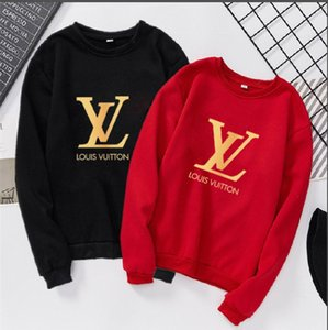Wholesale S XXXL Women s Men s Hoodies autumn Winter Brand hoodies Women Men Hoodies Womens Streetwear Hoodied Sweatshirts Pullover sweater