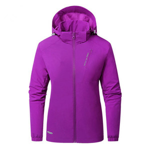 Wholesale Spring Designer Unisex Waterproof Jacket Brand Full Sleeve Zipper Hooded Softshell Jacket Women Men Outdoor Sports Breathable Jacket C8704