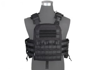 Wholesale Hunting Tactical Vest Airsoft Combat Style Cherry Plate Carrier Tactical VEST NCPC Genuine Black EM7435F