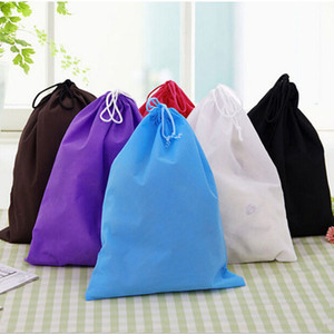 Wholesale designer bags sales for sale - Group buy Non woven Bags Hot Sale Waterproof Non woven Shoe Cloth Storage Bag Travel Drawstring Bag