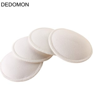 Wholesale 4Pcs Pairs Baby Feeding Breast Pad Washable Nursing Pad Soft Absorbent Reusable Nursing Anti overflow Maternity