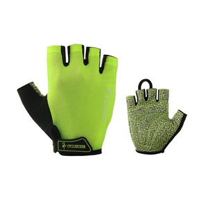 Wholesale CYCLEHIKER GEL Cycling Gloves Men Women Bike Glove Summer Breathable cycle luva guantes Black Fluorescent Green Bicycle Gloves