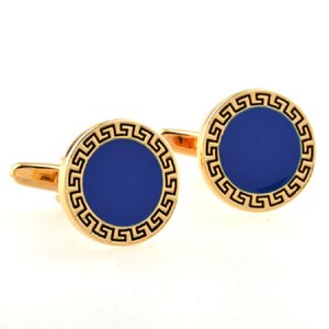 French Shirt Cufflink for Mens Gold Silver Brand Designer Business Cuff Links Button Male Luxury Wedding Jewelry Cheap Wholesale