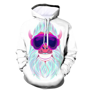 Wholesale New Oversize Hoodies XL Autumn Men d Cool Print Squirrel Animal Sweatshirt Hoodie Hombre Crewneck Hooded Jacket Tracksuits
