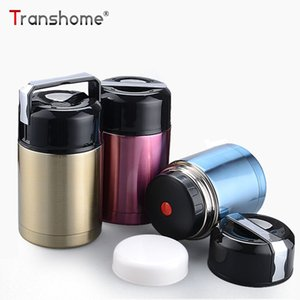 Wholesale ml Thermos Lunch Box Stainless Steel Thermos For Food Large Capacity Vacuum Flask Bottle Travel Thermos Cups Mug