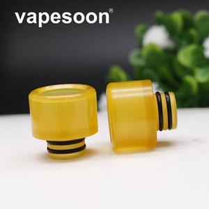 Authentic High Quality VapeSoon 510 Pei Drip Tip Anti-condensation For TFV8 BABY TFV12 BABY Prince Atomizer Tank in Stock fast Shipping
