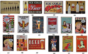 Wholesale classic tin signs resale online - 20 cm Metal Tin Sign Beer my Guinness Retro Vintage Classic Tin Bar Pub Home Wall Decor Retro Tin Poster