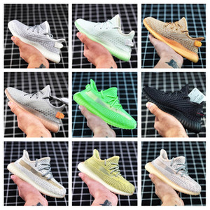 Wholesale Kids Shoes Kanye West Children Athletic Shoes Sport Sneakers Boy Girl Jogging Primeknit Multi Colors Size