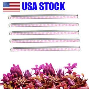 Wholesale growing lights for sale - Group buy T8 LED Grow Light FT FT FT Plant Grow Light Bar Strip Tube Full Spectrum Sunlight Replacement with High PAR for Indoor Plant USA STOCK