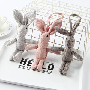 10add13a6ef4c6 Easter Baby Toy Rabbit Plush Accessories Mamas & Papas Baby Doll 17*4CM Cute  Bunny