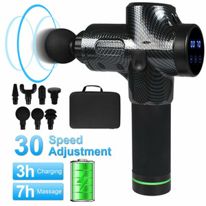 Massage Gun Deep Tissue Percussion Muscle Massager for Body Pain Relief 7 Heads