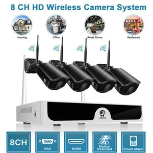 Wholesale JOOAN Wireless WIFI P Security Camera HDMI CH NVR Outdoor IP Camera System